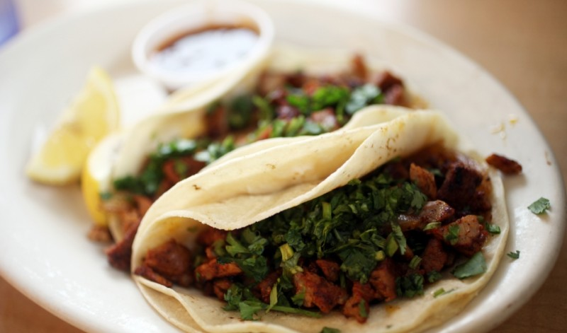Tacos al pastor from Carmela's Mexican Restaurant in Beaumont, Texas. Credit: Randy Edwards/CC BY-NC-ND 2.0