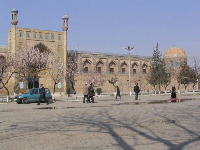 The town of Andijan in Uzbekistan.  Photo from www.panoramio.com. Licensed to reuse.