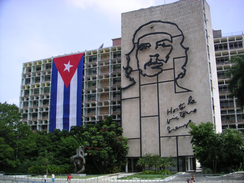 Plaza de la Revolución. Photo taken from Mark Scott Johnson licensed by CC BY 2.0