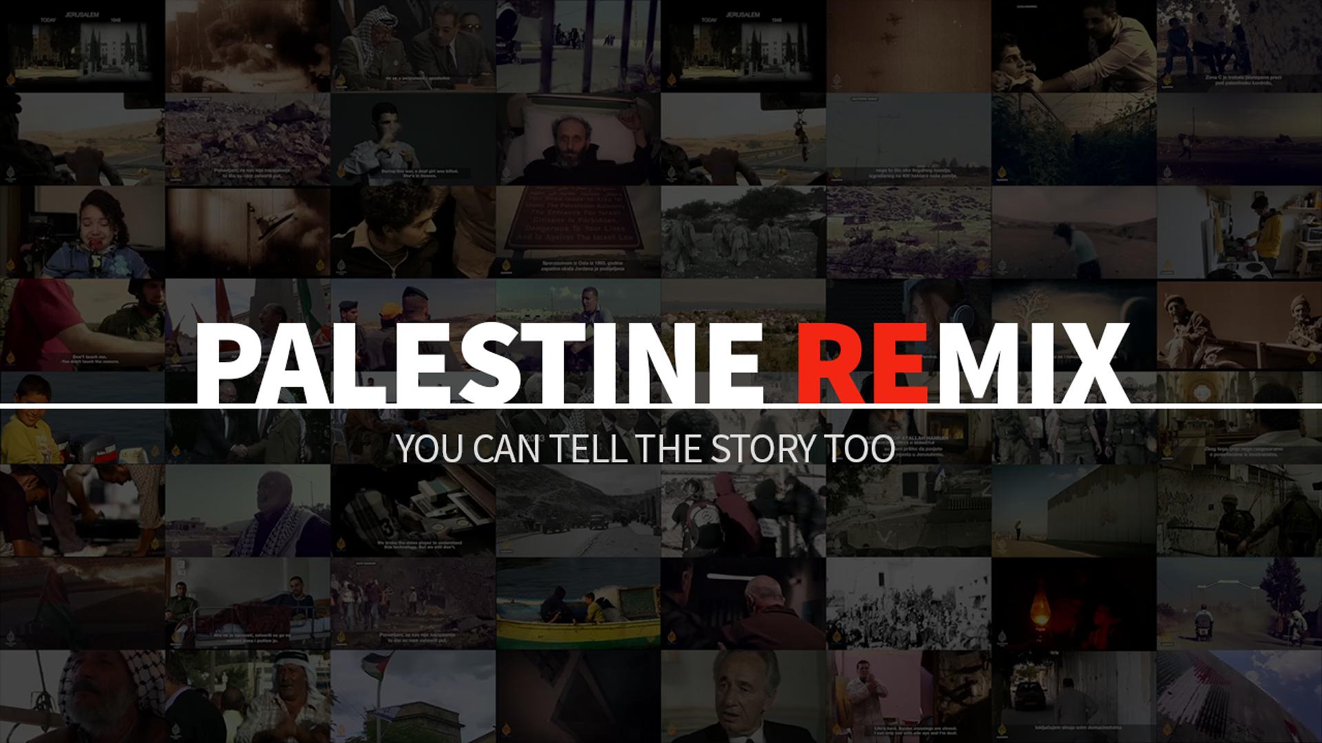 Palestine Remix. Source: Al Jazeera