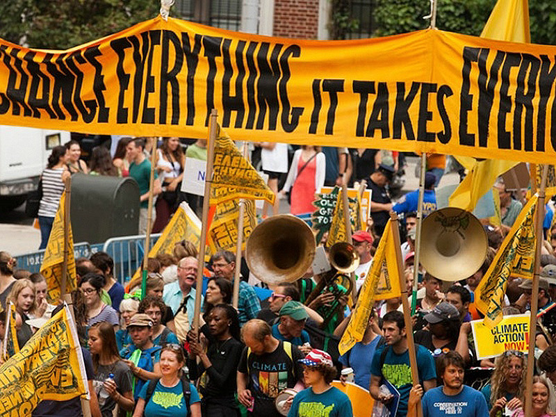 People's Climate March 2014 NYC. Photo by South Bend Voice on Flickr. CC BY-SA 2.0