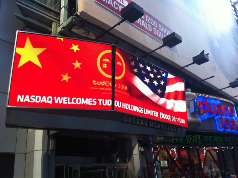 Many U.S listed China Concept Firms are returning back to Chinese A-Share Market. Photo from flickr user: Marc van der Chijs (CC: AT-SA)