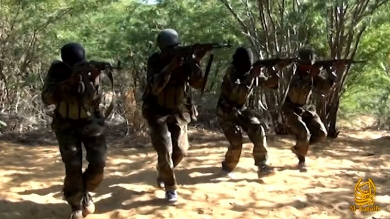 Al-Shabaab Fighters - via Wikipedia - Public Domain