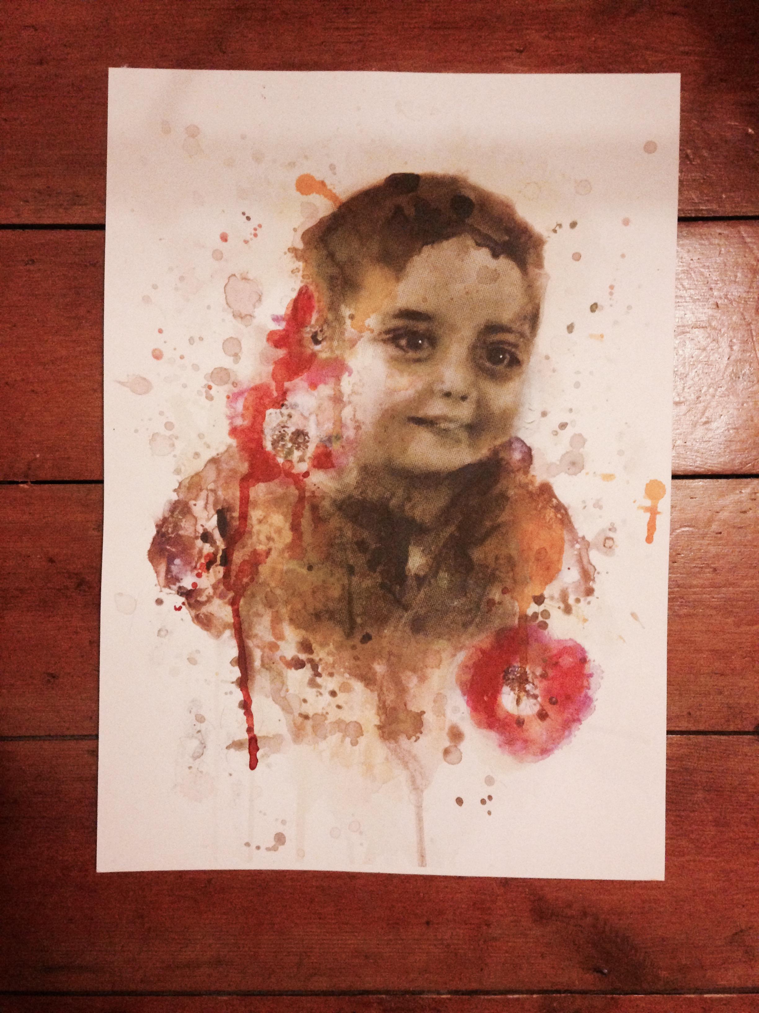 Sahir Abu Namous' Portrait