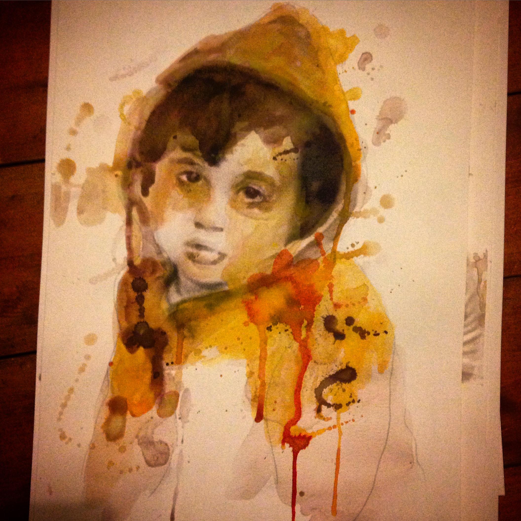 Sara Omar Ahmed Sheikh al-Eid, 4 years old.