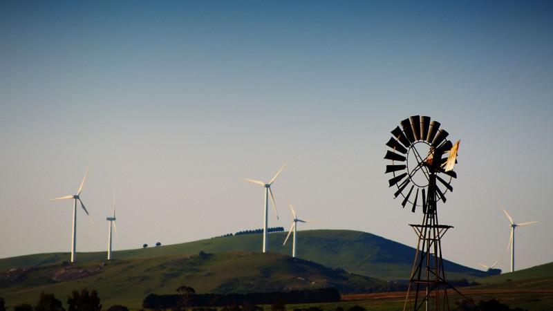 Victorian wind farm.