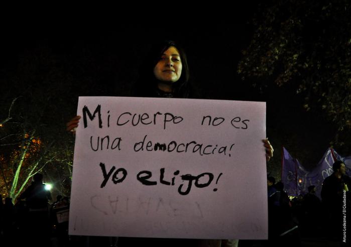 Periódico El Ciudadano Follow Marcha Por el Aborto Libre, Seguro y Gratuito  Marcha por el Aborto, Santiago de Chile, 25 de Julio de 2014