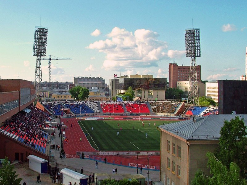Kyrgyzstan's national stadium, Spartak, when it is not hosting the Australian national team.