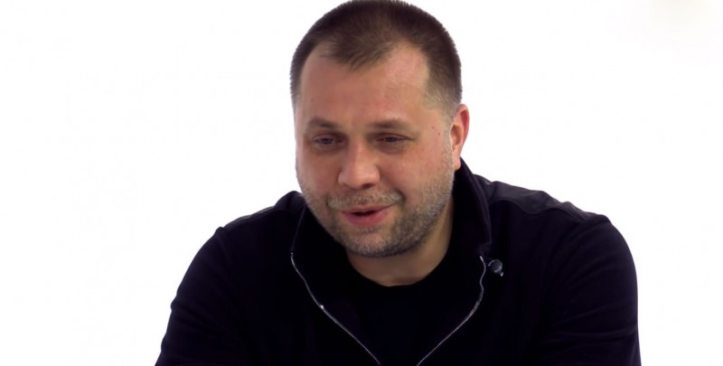 Alexander Borodai. November 2014. Den TV. YouTube.