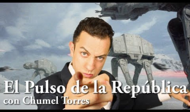 """El Pulso de la República,"" a bi-weekly political satire show hosted by Chumel Torres, is one of the most popular YouTube shows in Mexico. Credit: Courtesy of Pulso de la Republica"