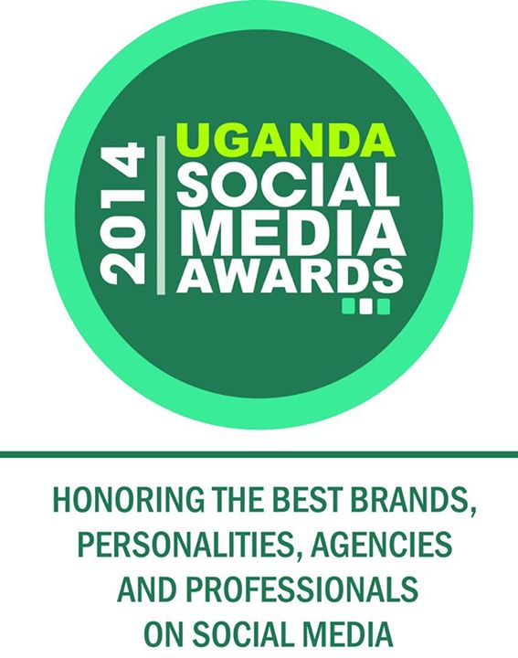 The logo of Uganda Social Media Awards.  Source: Uganda Social Media Awards Facebook page.