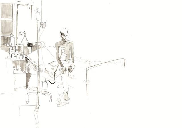 A TB Patient.