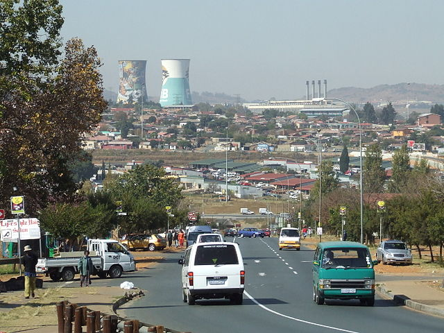 A photo of Soweto where the protests began before they spread in other parts of the country. Photo released under Creative Commons by Flickr user Michael Denne.