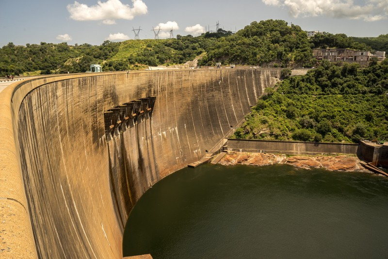 The Kariba Dam. Photo by Adam Ojdahl, March 9, 2015. CC 2.0.