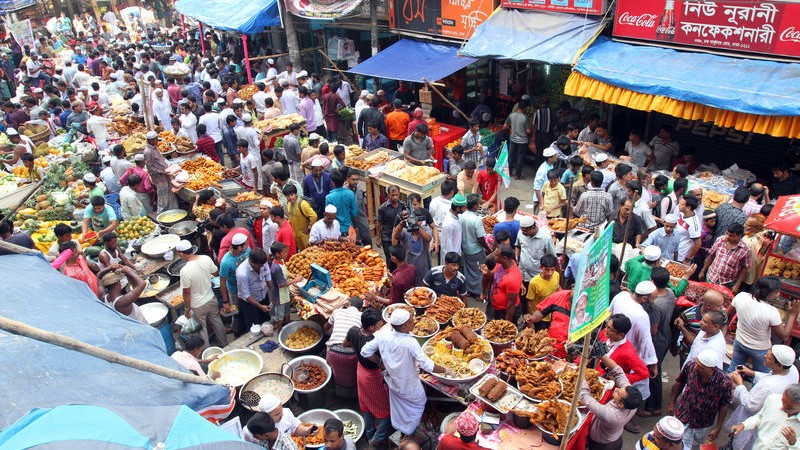 Chawkbazar of old Dhaka is the place for the traditional Iftar market in Bangladesh. According to historians, the market started before 1857. Image by SK Hasan Ali. Copyright: Demotix (30/6/2014)