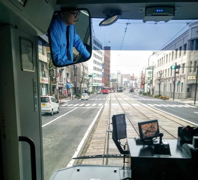 Nagasaki Streetcar Dejima