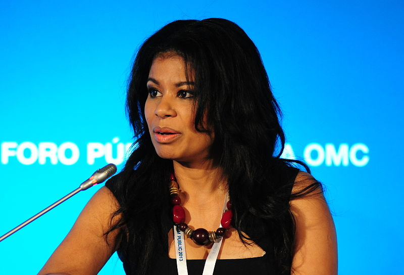 Kenyan TV host and anchor Julie Gichuru. Creative Commons photo by the World Trade Organisation.