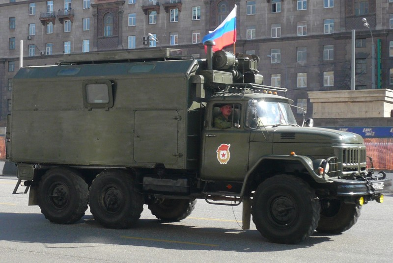 Russian military vehicle. Wikipedia image.