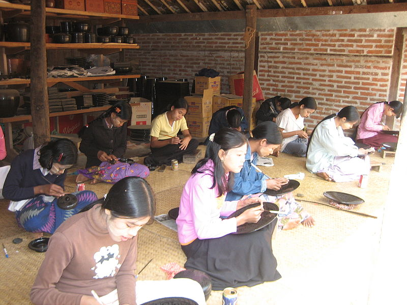 Women workers in Bagan, Myanmar. Photo from Wikimedia, CC License