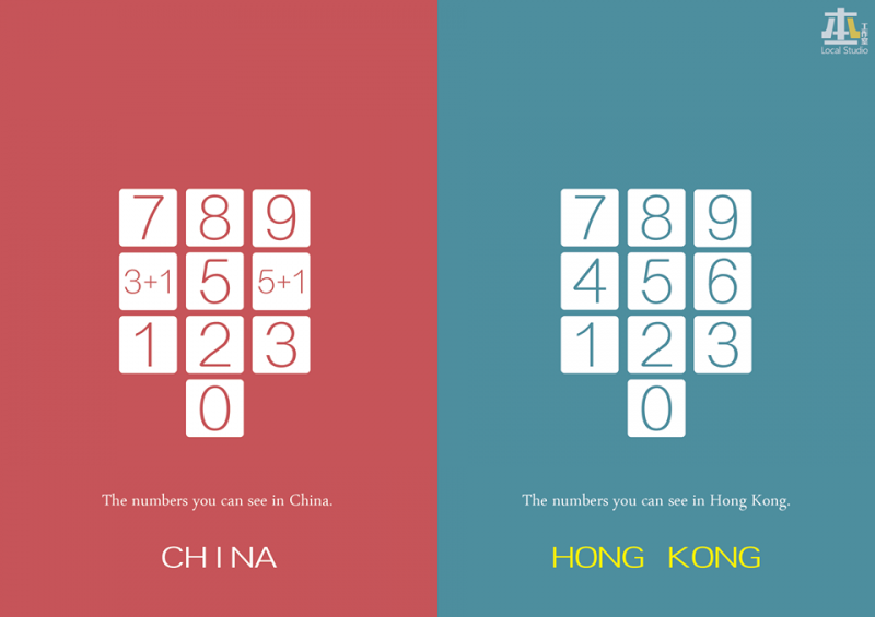 Missing numbers in China.
