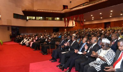 African leaders present at the 4th High Level Meeting on Disaster Risk Reduction. Photo by UNISDR.