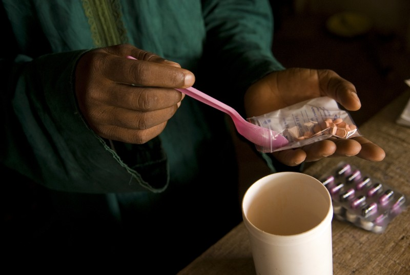 Malaria medication. Nigeria. Photo: Arne Hoel / World Bank. CC BY-NC-ND 2.0
