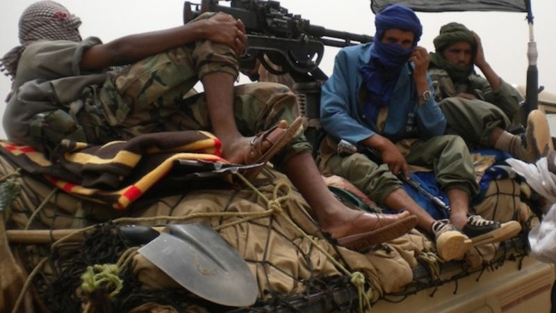 Rebels from the militant Islamist sect Ansar Dine in Mali - Public Domain
