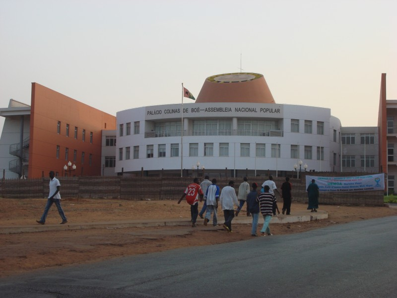 Guinea Bissau's parliament.  Photo:  Flickr by Colleen Taugher cc-by-2.0