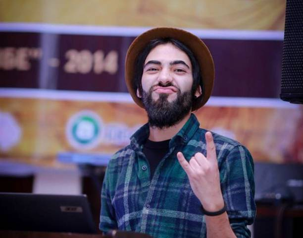 Dzhavod Rabzhadov, a Dushanbe DJ. Image courtesy of Asia Plus.