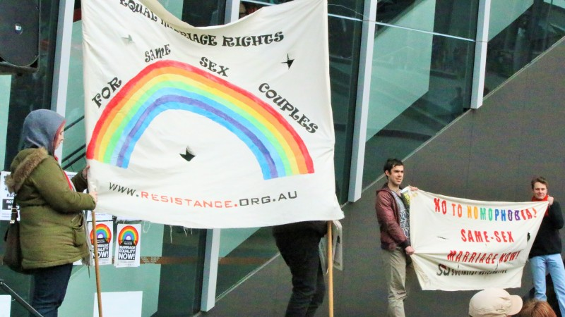Marriage Equality Rally unites Equal Love in Melbourne City