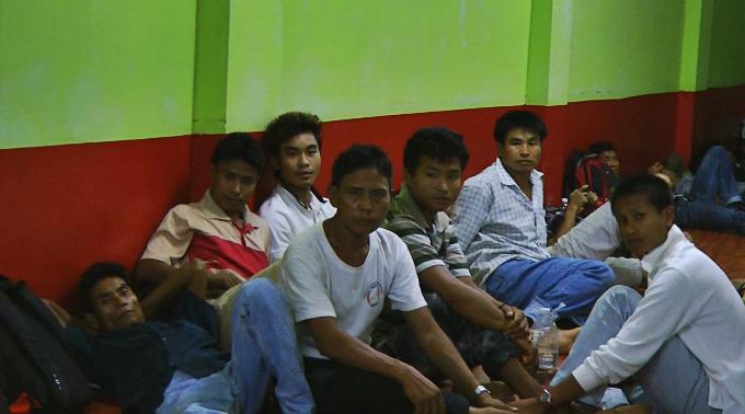Myanmar migrants in Malaysia
