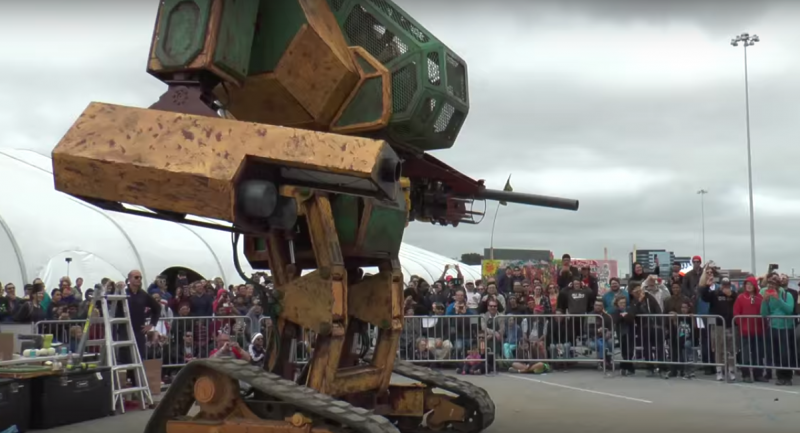 Screen capture from YouTube / MegaBots Inc.