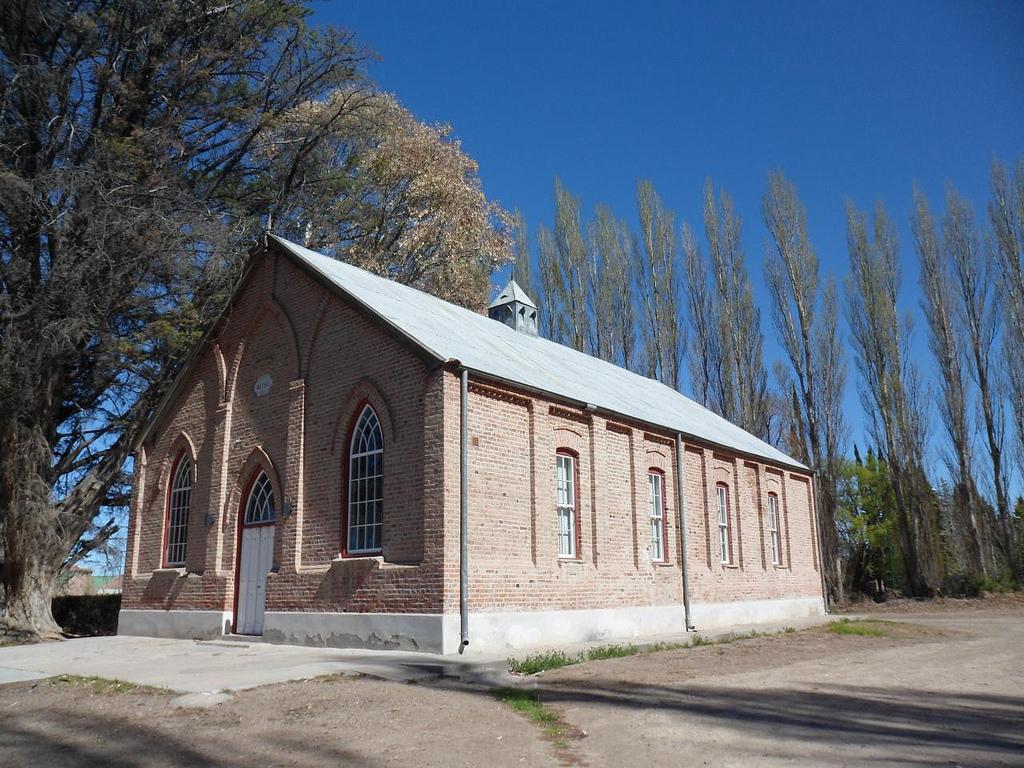 Bethel chapel, Gaiman, Chubut. PHOTO: Pablo Flores  (CC BY-NC-ND 2.0).