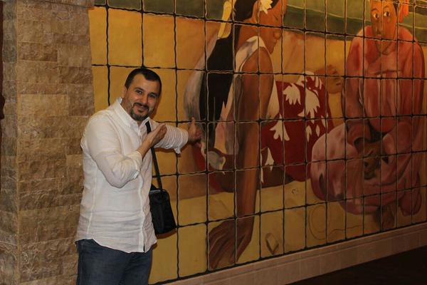 A picture of Salim Alaradi taken from the official Twitter account created for him @freesalimaradi.