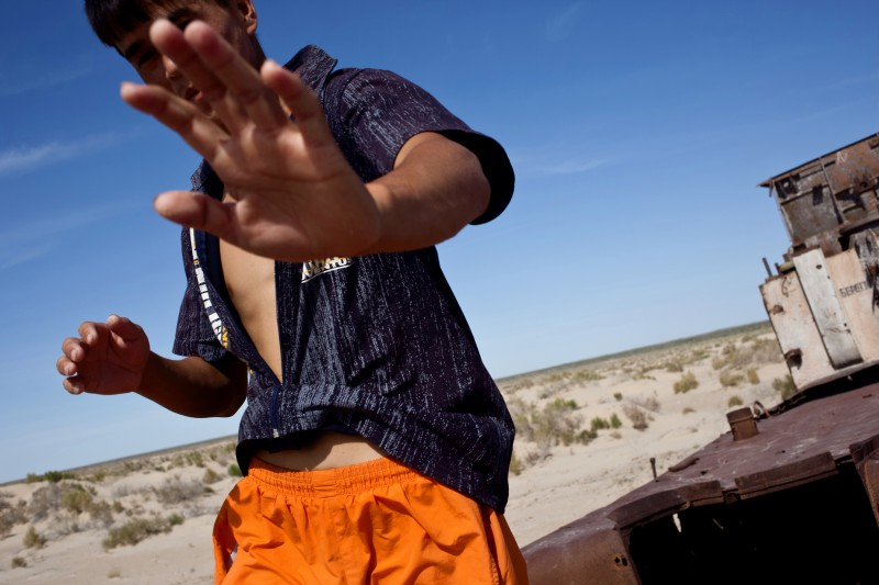 Demotix Photo: ID: 198150. From Moynaq, Uzbekistan. 15 March 2013, by Yan Seiler.