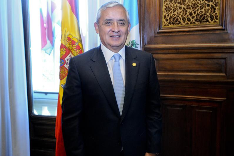 Foto de archivo del ahora expresidente Otto Pérez Molina a quien el Congreso de Guatemala le aceptó la renuncia. Foto tomada de la cuenta en Flickr de Cada de Américas bajo licencia Creative Commons.