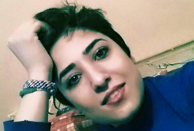 Jailed cartoonist and activist Atena Farghdani has been on a hunger strike in protest of verbal abuse in jail. Photo from ICHRI.