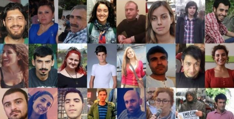 Collage of Suruc victims, tweeted by @SarkawtShams on July 22nd.