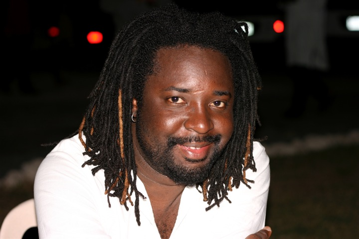 Jamaican novelist Marlon James at the Calabash Literary Festival in 2007. Photo by Georgia Popplewell, used under a CC BY-NC-ND 2.0 license.