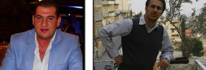 Douaihy (à gauche) et Nazzal. Les deux images prises à partir de Facebook.