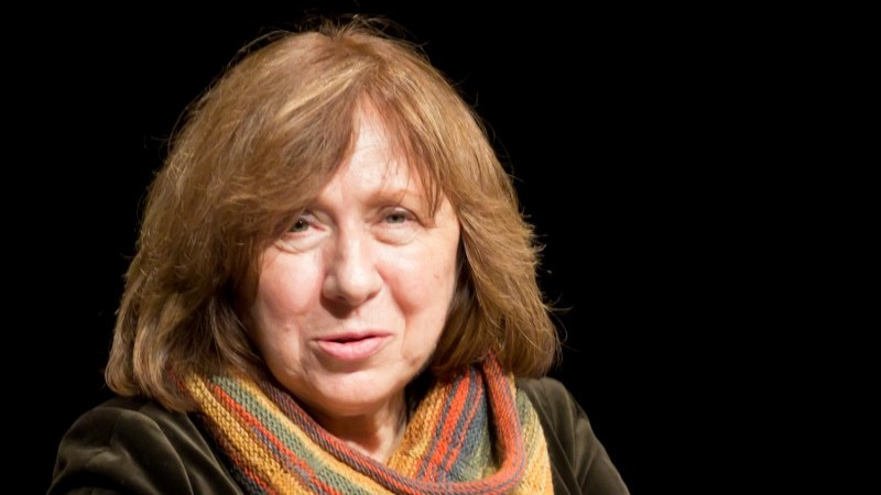 Svetlana Alexievich, winner of the 2015 Nobel Prize in Literature. Image from Wikimedia Commons.