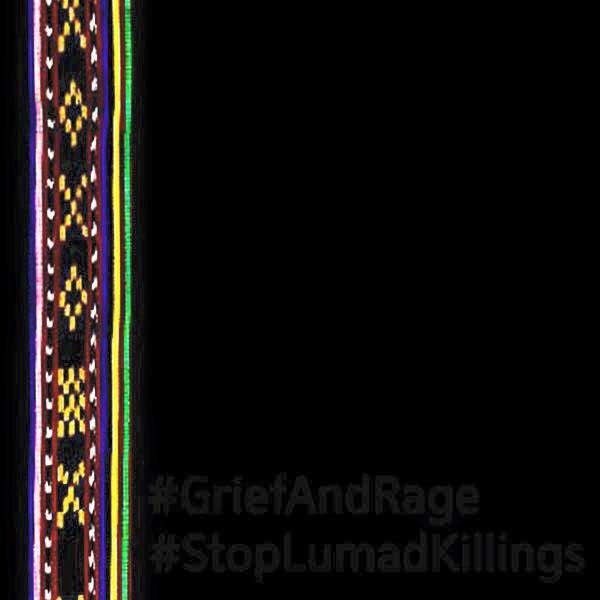 Facebook users were asked to share this profile photo created by human rights group in support of the Lumad.