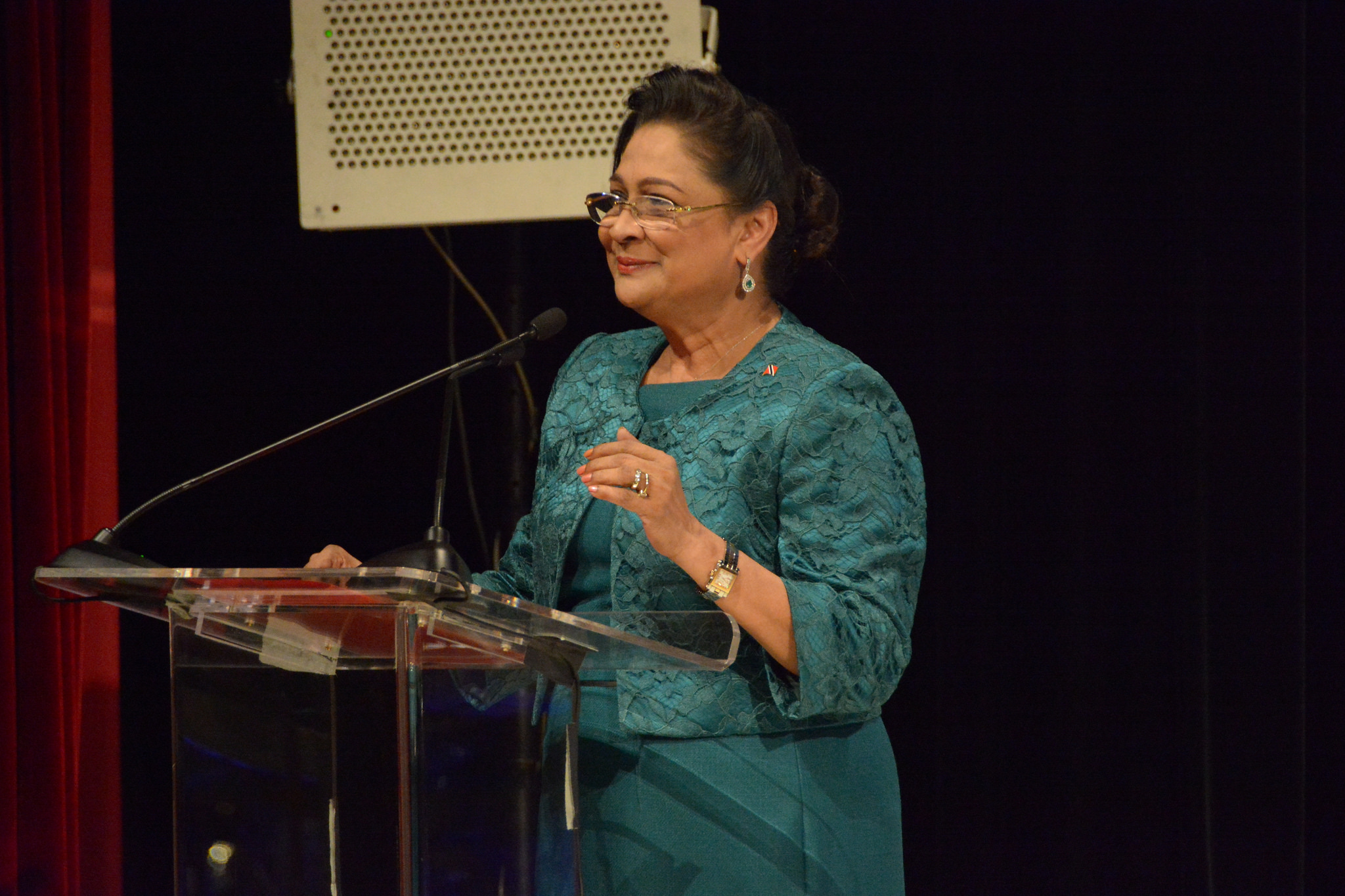 Kamla Persad-Bissessar, former Prime Minister of Trinidad and Tobago. Photo by OEA - OAS, used under a CC BY-NC-ND 2.0 license.