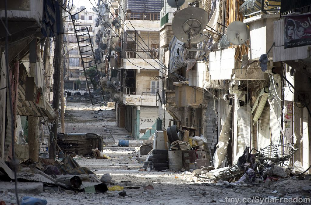 Salaheddin, Aleppo. PHOTO: Freedom House (CC BY 2.0).