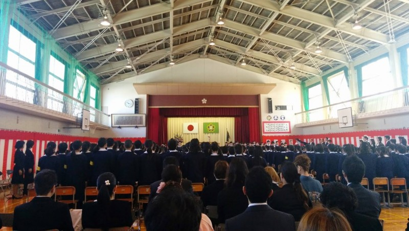 junior high school graduation in japan