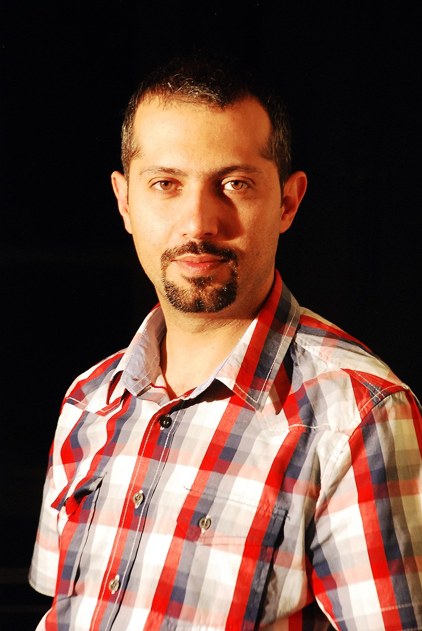 Cartoonist Hadi Heidari was imprisoned on November 16, 2015.