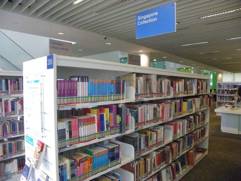 Bishan library in Singapore. Photo from Flickr page of  Ellen Forsyth, CC License