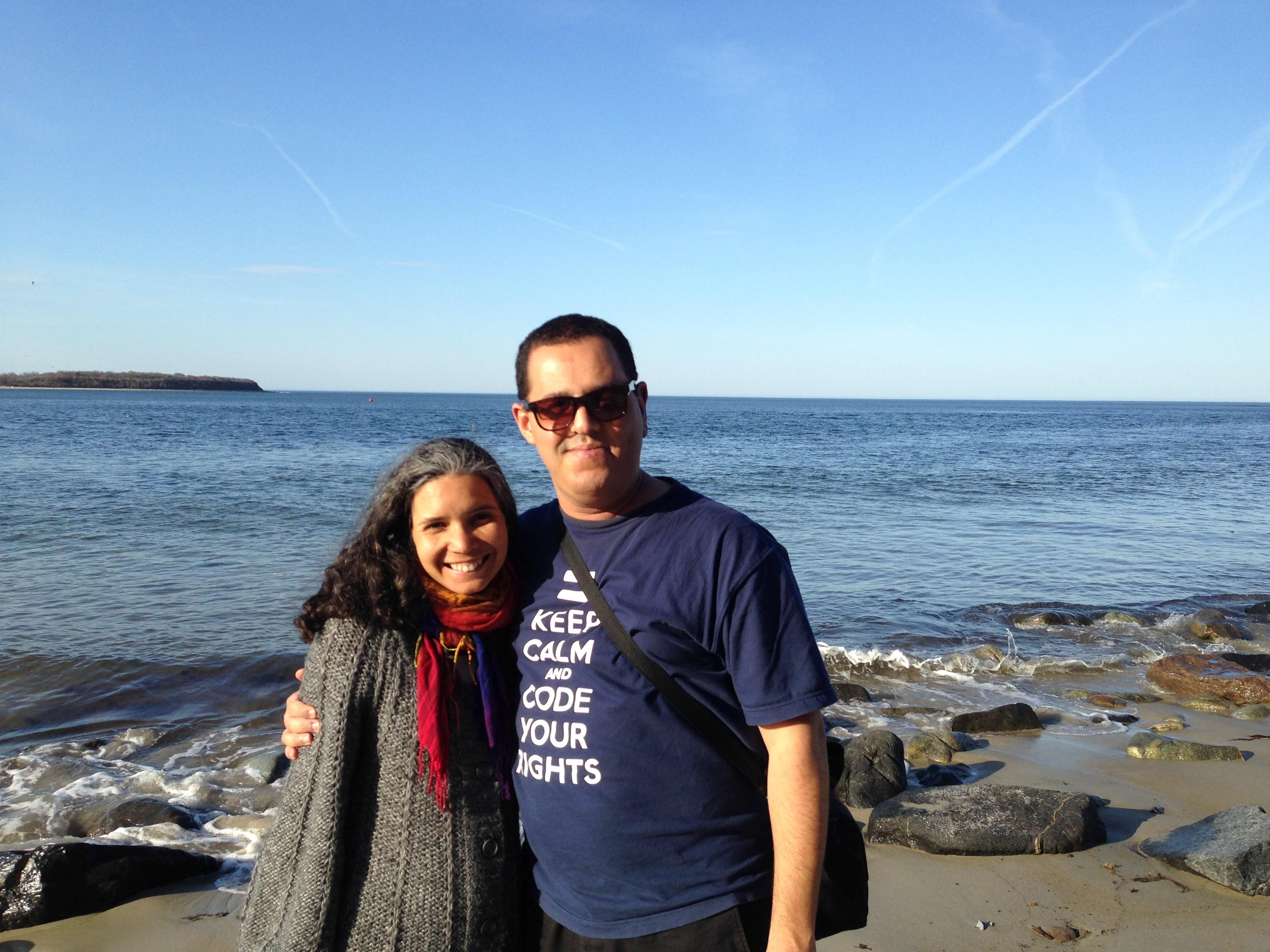 Hisham and Paula Goes. PHOTO: Ellery Biddle