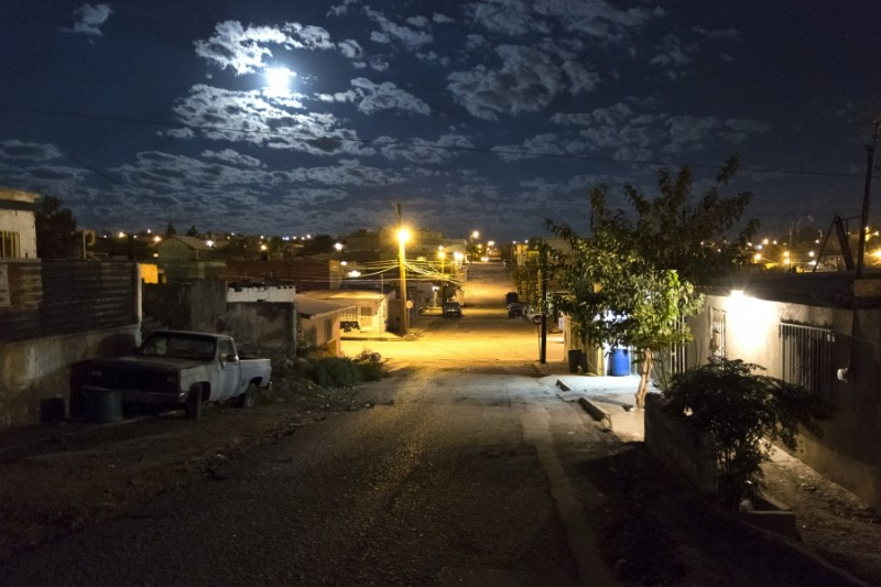 A view of the Colonia Alta Vista neighborhood in Ciudad Juarez. Credit: Miguel Gutierrez Jr./KUT News. Used with permission