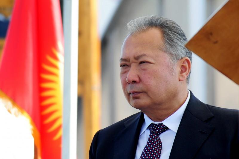 Kyrgyzstan's Ex-President Kurmanbek Bakiyev. Wikipedia image.